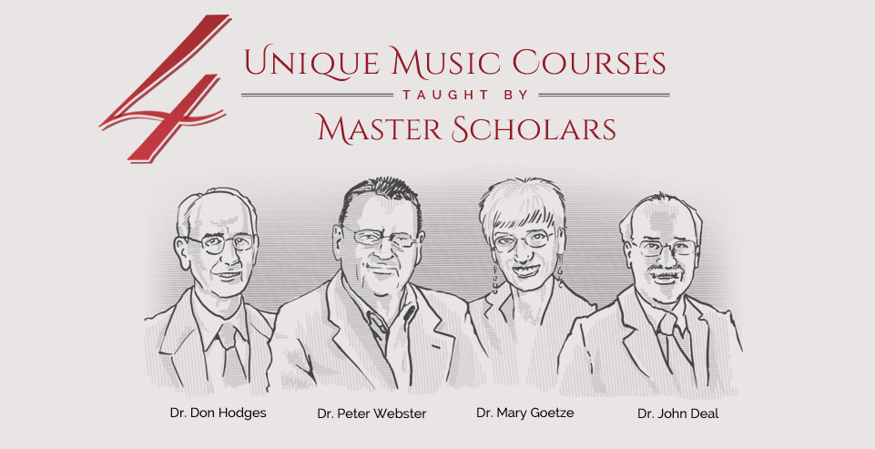4 Unique Music Courses taught by Master Scholars