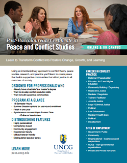 unit 1 peace and conflict studies These 6 units of inquiry for our grade level, along with each other grade level's units, are the foundation of the ib primary years program's curriculum and form our school's program of inquiry.