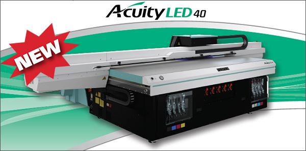 Acuity LED 40 Banner frame w logo