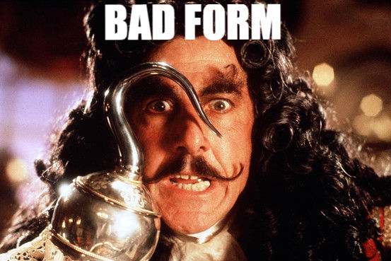 inbound marketing bad form
