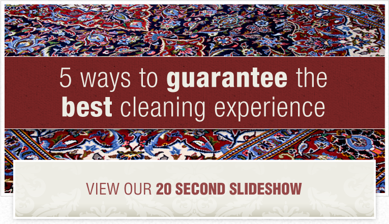 A red, blue and white oriental rug