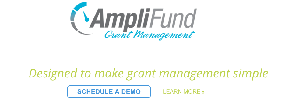 AmpliFund 4.0 Grant Management Software