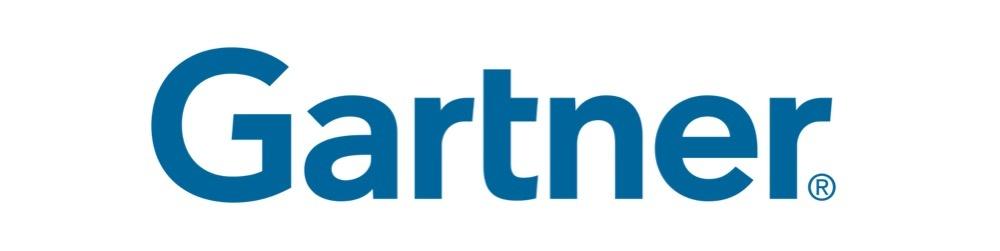 Homepage Gartner Logo blue