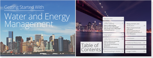 Getting Started Water and Energy Management