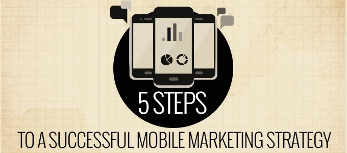 5 Steps to a successful mobile marketing strategy