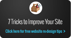 7 tricks to improve your site simple
