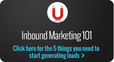inbound marketing 101 simple