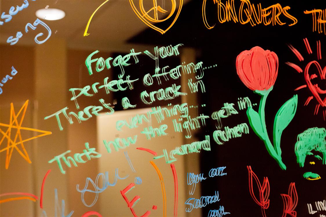 Bathroom Yogi Graffiti At Back Bay Yoga Studio At Karma Yoga  Newbury St