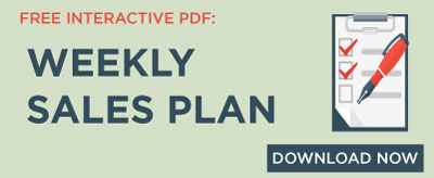 Weekly Sales Plan
