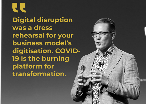 On-Demand Corona Strategy Webinar with Futurist Anders Sörman-Nilsson