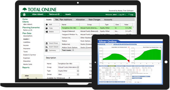 Financial planning software money tree software for Computer planner software