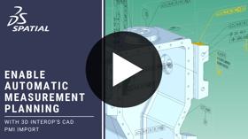 3D InterOp Measurement Planning