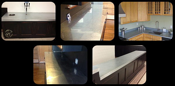 Zinc Countertops In Md Dc And Va