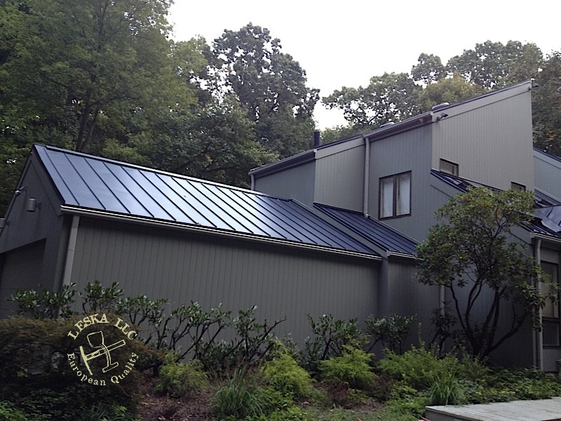 Sunnet Blue Metal Roof Towson Md