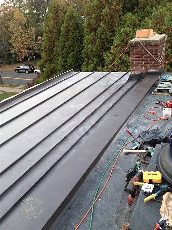 Flat Standing Seam In Silver Spring