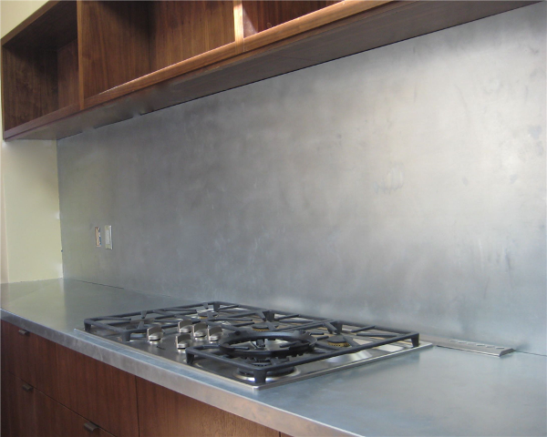 Other zinc countertops for Kitchen zinc design