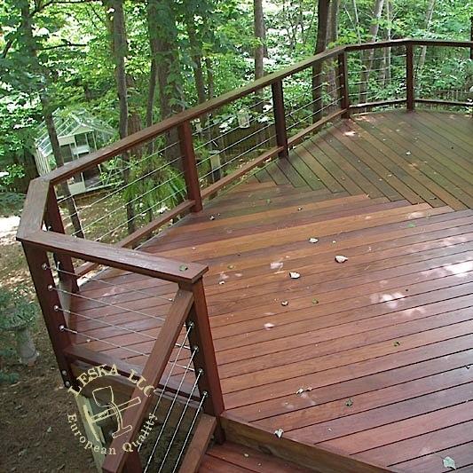 cable deck railing potomac md. Black Bedroom Furniture Sets. Home Design Ideas