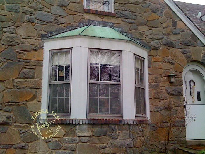 Leska Llc Silver Spring Md Bay Window Copper Roof