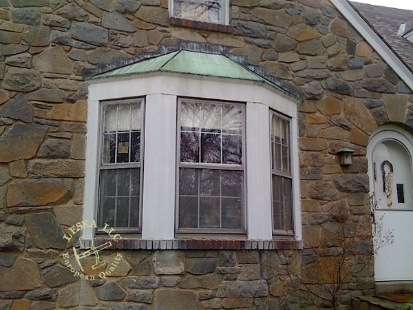 Leska Llc Silver Spring Md Bay Window Copper Roof