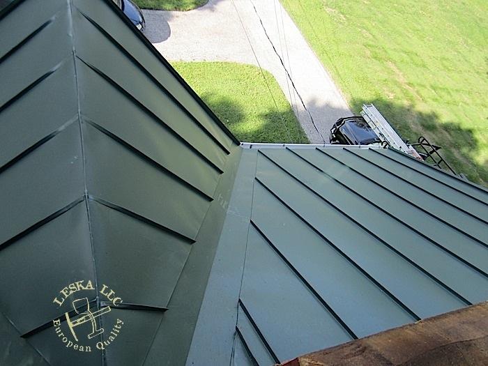 Leska Md Olney Metal Roofing Metal Roof Gutters