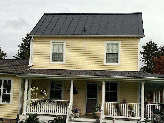 Leska Llc Maryland Olney Metal Roofing Metal