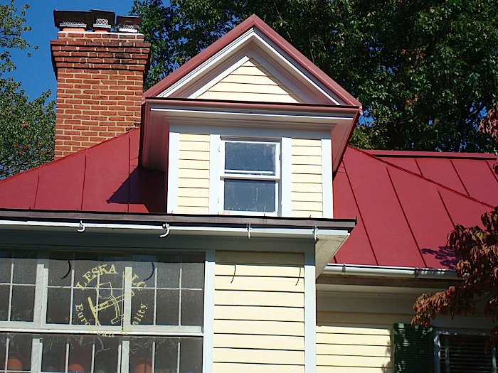 ... Leska Installed Metal Roof Sidng , Trims And All Flashing On This  Project In PG County ...