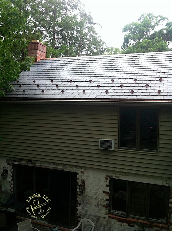 ... Slate Roofing Installed On Home In Alexandria Va ...