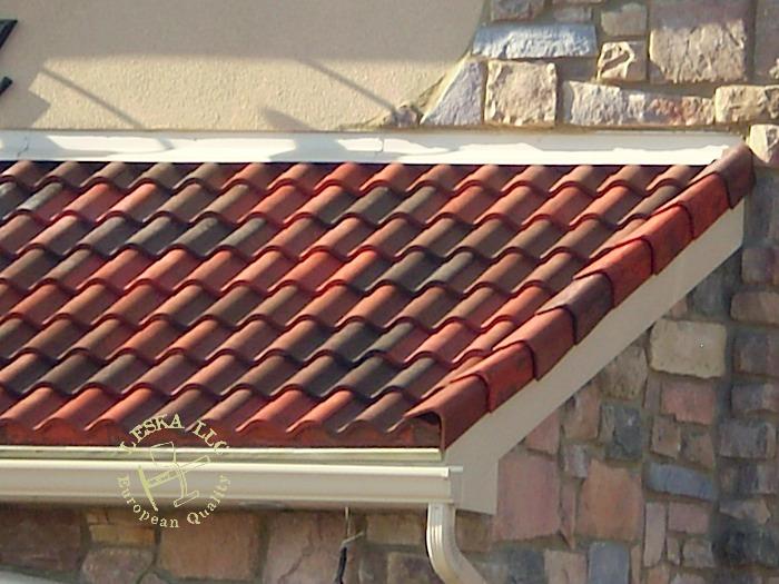 Imitation Tile Roofing Tile Design Ideas