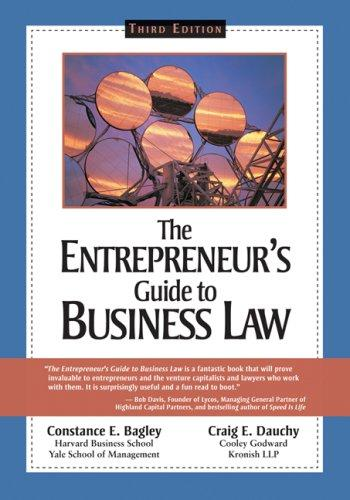 "Cover of ""The Entrepreneur's Guide to Bus..."