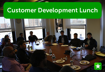 Performable Customer Development Lunch