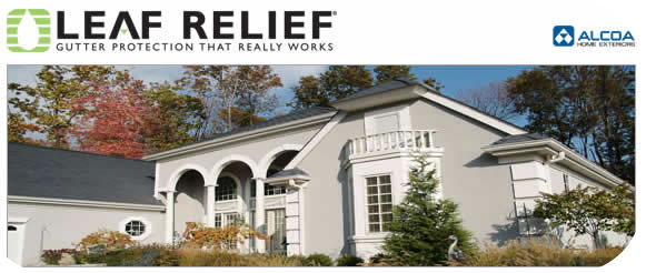 Alcoa Leaf Relief Gutter Covers - Berkeley Exteriors - CT