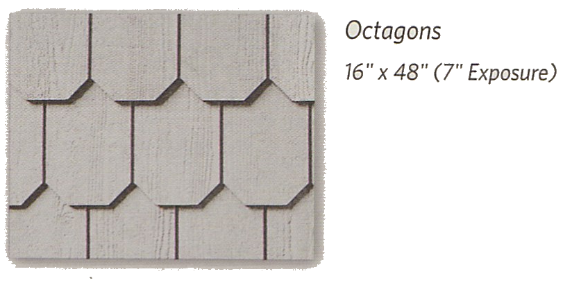 Weatherboards Shapes Octagons - Berkeley Exteriors - CT