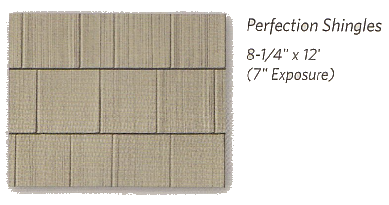 Weatherboards Shapes Perfection Shingles - Berkeley Exteriors - CT
