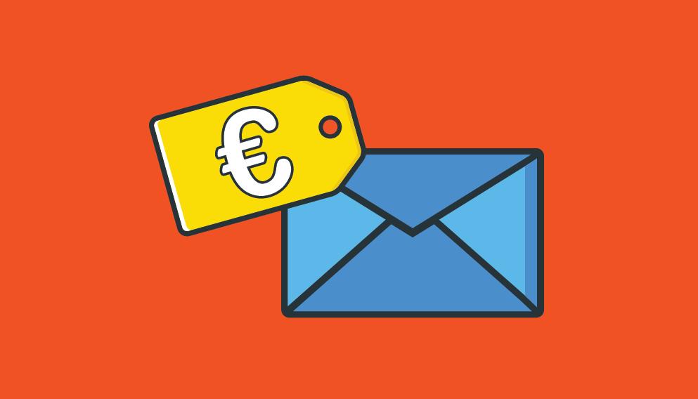 De posttarieven voor 2020