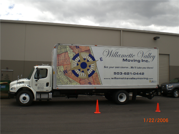 Moving Truck Graphics