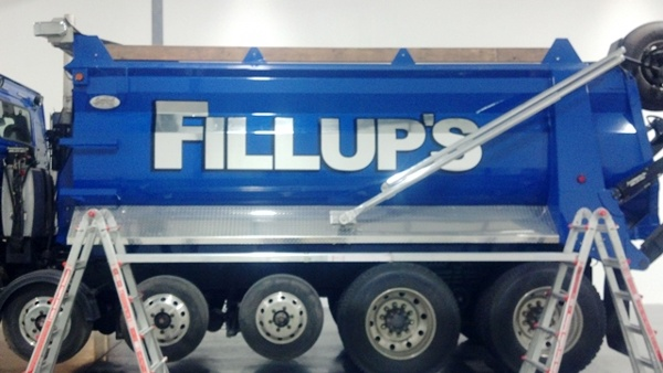 Blue Truck Graphics