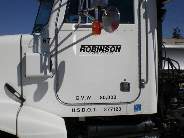 Construction Truck Graphics