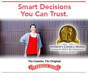 Overhead Door receives Women's Choice Award