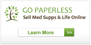 Expand your business overnight and begin selling Medicare Supplements and Life online