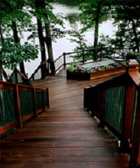 Magnificent Ipe Deck Ipe Staircase Custom Ipe Railing