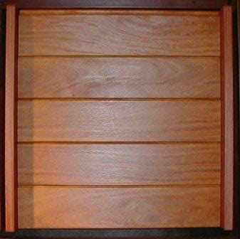 Cumaru picture gallery for Horizontal wood siding panels