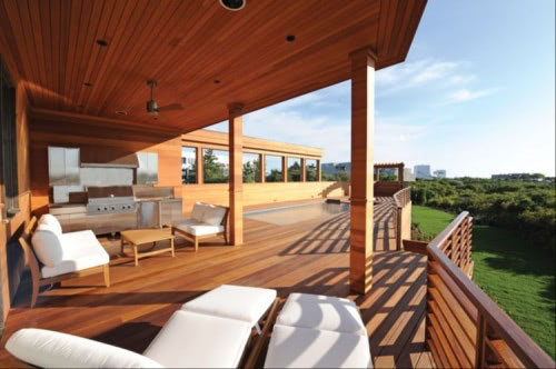 Cumaru deck and railing