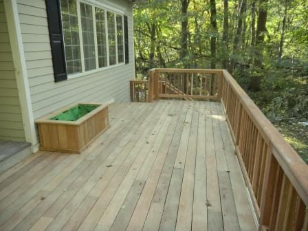 FSC Garapa decking for backyard decks