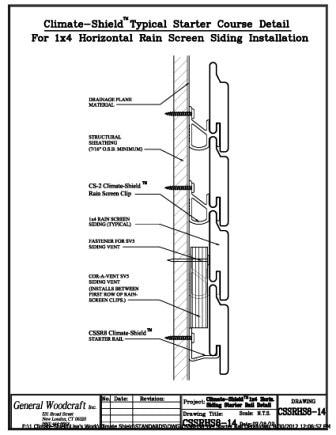 Rain Screen Installation Climate Shield Is User Friendly