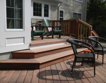 Is cumaru hardwood decking the new ipe for Ipe decking vs trex