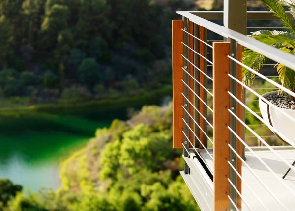 Cable Rail System Great Option For A Beautiful Ipe Deck