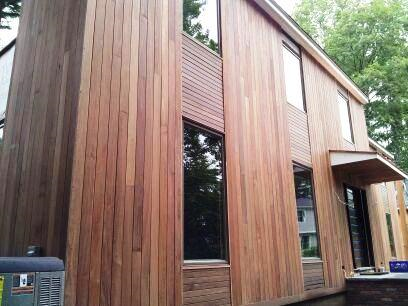 Composite wood siding panels exterior - Bold Rain Screen Design Combines Vertical And Horizontal