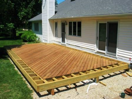 Anatomy Of A Hardwood Deck Project