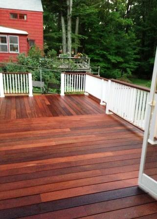 ipe deck and patio project. Black Bedroom Furniture Sets. Home Design Ideas