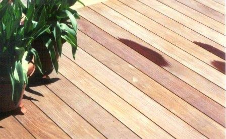 Ipe decking lasts...and last beautifully